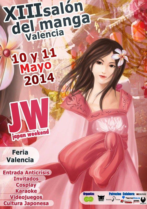 XIII Salón del Manga de Valencia – 10 y 11 de Mayo de 2014 – Feria Valencia