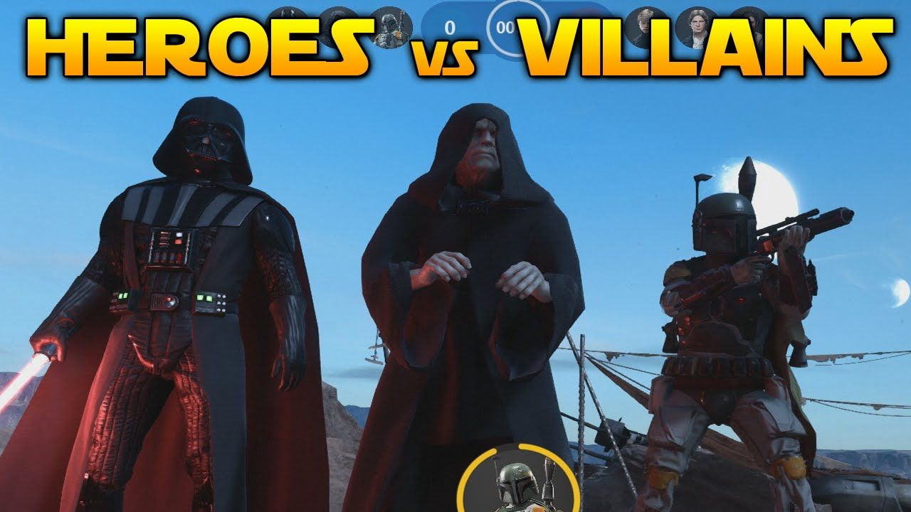 Star wars heroes y villanos [Gameplay]