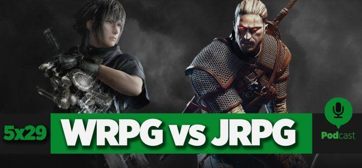GAMELX 5×29 – Los Mejores RPG (2º Parte: Debate JRPG vs WRPG)