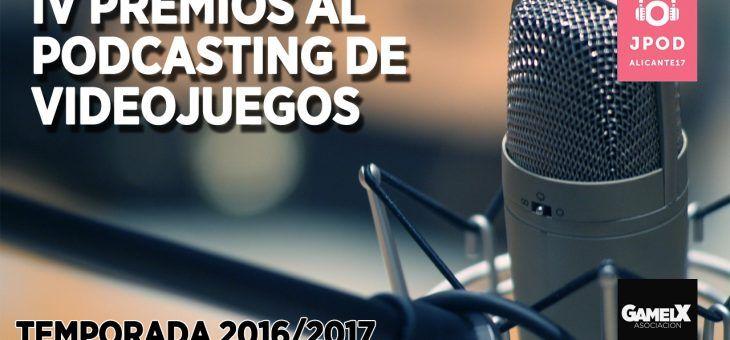 Ganadores a los Premios al Podcasting de Videojuegos 2017