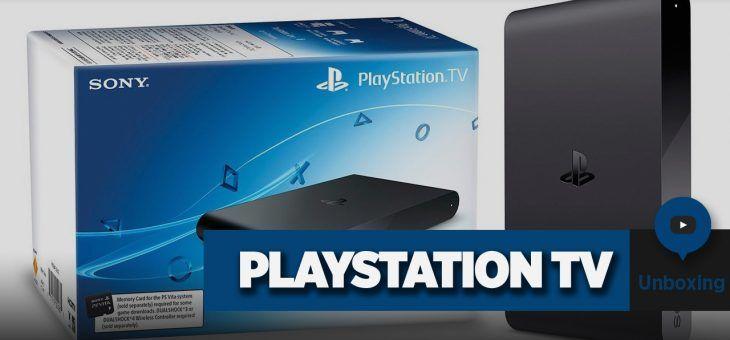 PlaySation TV   Unboxing