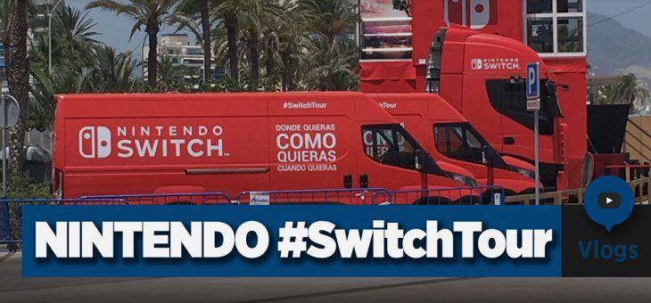 Visita al #SwitchTour para probar la Nintendo Switch | Vlog by Berni