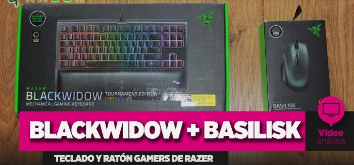Análisis: Teclado Razer Blackwidow + Ratón Razer Basilisk