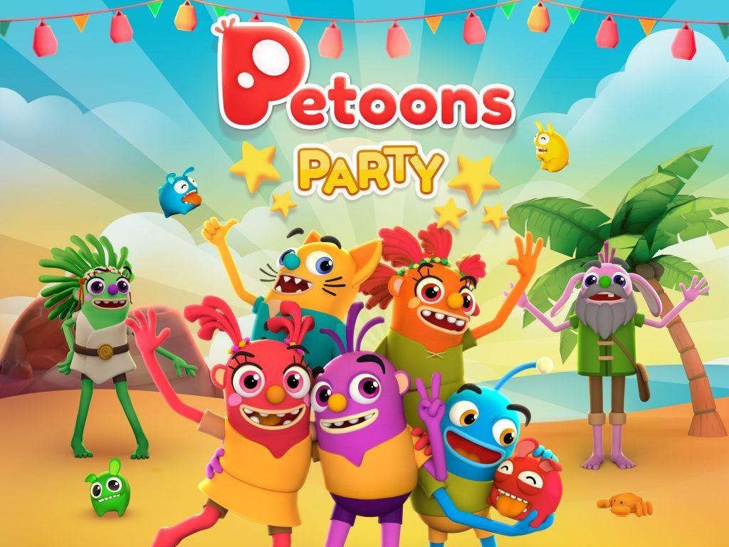 PetoonsParty KeyArt