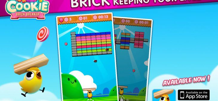 Super Cookie Brick Breaker llega para Android y iOS