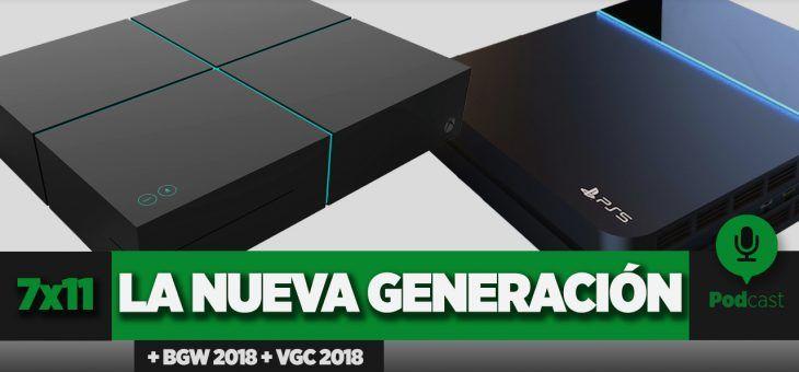 GAMELX 7×11 – Divagaciones sobre la nueva generación + BGW