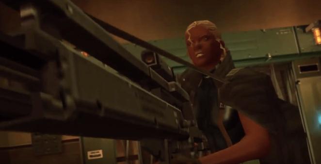 La temida Reina de Metal Gear Solid 2 se ha empleazo para el artículo de personajes de videojuegos afroamericanos